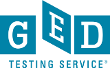 GED<sup>&reg;</sup> Scores and Transcripts logo