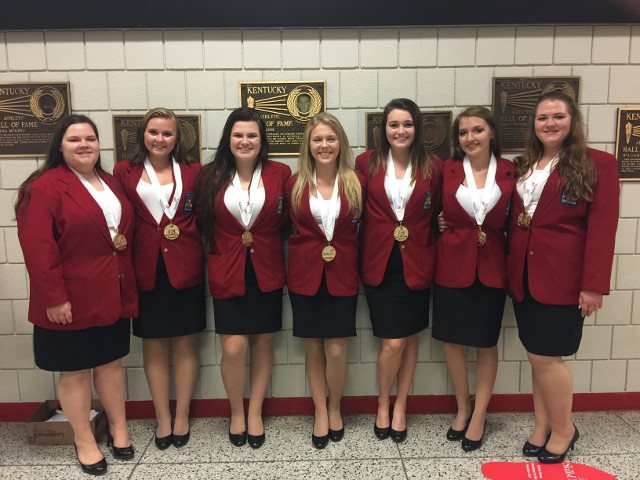 SkillsUSA Conference Winners