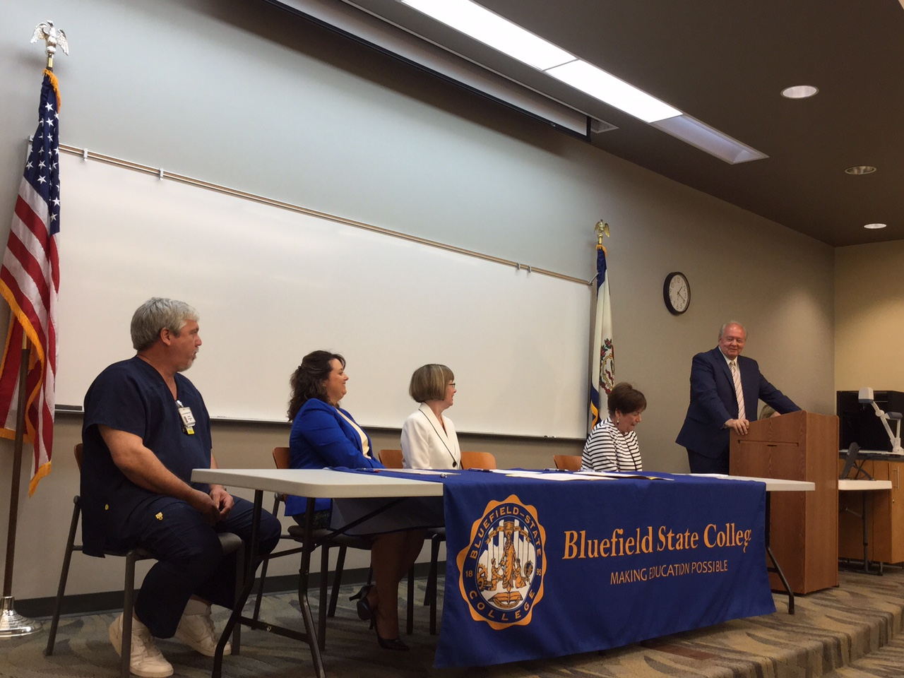 Nursing program at Bluefield State
